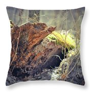 Essential Dead Tree Throw Pillow