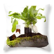 Essential Oil Of Sale Throw Pillow