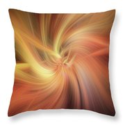 Essential Vibrations Of Light Throw Pillow