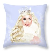 Essex Girl Throw Pillow