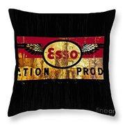 Esso Circa 1920's Throw Pillow