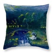 Estate Of Renaissance  Throw Pillow