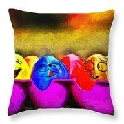 Ester Eggs - Pa Throw Pillow