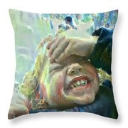 Esther, What Is So Funny? Throw Pillow