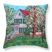 Esther's Home Throw Pillow