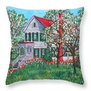 Esther's Home Throw Pillow
