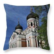 Estonia Church  Throw Pillow