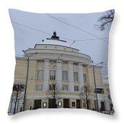 Estonia National Opera Throw Pillow