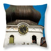 Estonian Baroque Onion Dome Throw Pillow