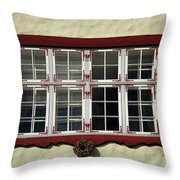 Estonian Window Throw Pillow