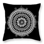 Estrella Mandala Throw Pillow