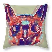 Eternal Cats Throw Pillow