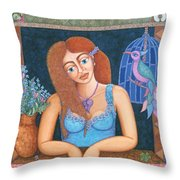 Eternal Eve Throw Pillow