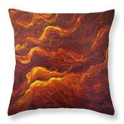 Eternal Flames Throw Pillow