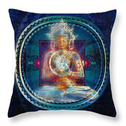 Eternal Now Throw Pillow by Kenneth Armand Johnson