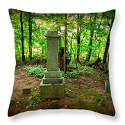 Eternal Resting Place Throw Pillow