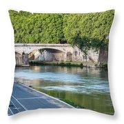 Eternal Tiber Throw Pillow