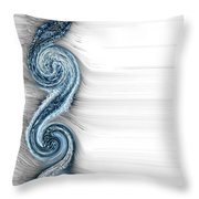 Eternal Wheel  Throw Pillow