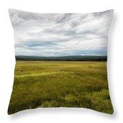 Eternal Yellowstone Throw Pillow