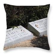 Ethel And Julius Rosenberg The Spies Throw Pillow