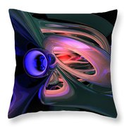 Ethereal Abstract Throw Pillow