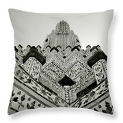 Ethereal Beauty Of Wat Arun Throw Pillow