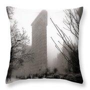 Ethereal Flat Iron Throw Pillow
