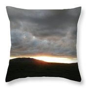 Ethereal Sky Throw Pillow