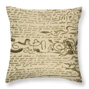 Ethinthus Queen Of Waters Throw Pillow