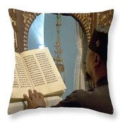 Ethiopian Priest  Throw Pillow