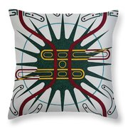 Etoile D'amour Throw Pillow