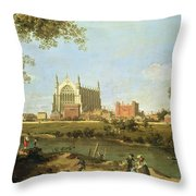 Eton College Throw Pillow
