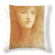 Etude Anglaise Throw Pillow