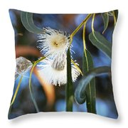 Eucalyphoria Throw Pillow