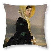 Euphemia White Van Rensselear Throw Pillow