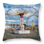 Eureka Carnival Throw Pillow