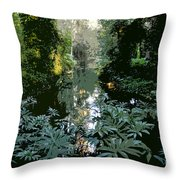 Eureka Springs Throw Pillow