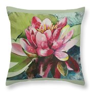 Eureka Springs Lily Throw Pillow