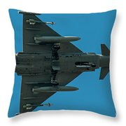 Eurofighter Typhoon 2000 Profile Throw Pillow