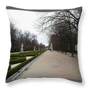 Europe Throw Pillow