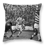 European Cup, 1970 Throw Pillow by Granger