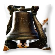Euterpe Bell Throw Pillow