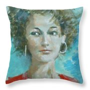Eva II Throw Pillow