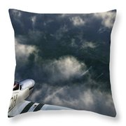 Evade Throw Pillow