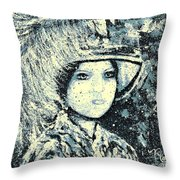 Evalina Throw Pillow