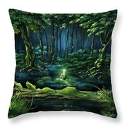 Evanescent Calling Throw Pillow