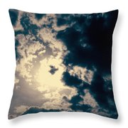 Evanston Cloudburst Throw Pillow