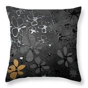 Eva's Garden Throw Pillow