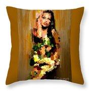 Eva's  Sin #0076 Throw Pillow