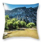 Eve Approaches- Throw Pillow by JD Mims